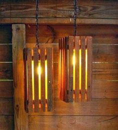 DIY Pallet Projects & Ideas| DIY Pallet Lights | Amazing Do It Yourself Projects Made With Wooden Pallets | Living Room, Bedroom, Indoor and Outdoor, Kitchen, Patio. Coffee Table, Couch, Dining Tables, Shelves, Racks and Benches http://www.thrillbites.com/35-diy-pallet-projects-ideas