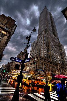 Modern Architecture – Citius, Altius, Fortius! | Empire State Building HDR by David Cornejo