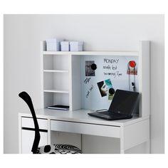 IKEA - MICKE Add-on unit-high white