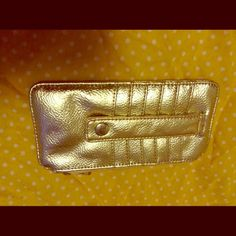 Card holder wallet Black and gold card holder wallet in great condition Bags Wallets