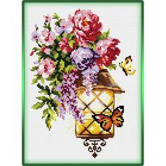 Butterfly Cross Stitch, Cross Stitch Bird, Cross Stitch Flowers, Cross Stitch Patterns, L Love You, C2c, Rose Bouquet, Needlepoint, Birthday Cards