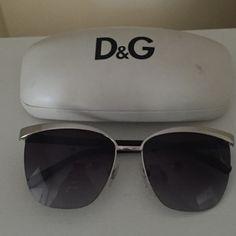 Dolce & Gabbana Sunglasses Authentic. Worn several times. Includes case & cloth Dolce & Gabbana Accessories Glasses