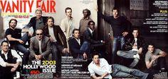 2003 From left: Tom Hanks, Tom Cruise, Harrison Ford, Jack Nicholson, Brad Pitt, Edward Norton, Jude Law, Samuel L. Jackson, Don Cheadle, Hugh Grant, Dennis Quaid, Ewan McGregor, and Matt Damon