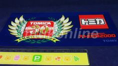 TOMICA STICKER | MEMORIAL | 30TH ANNIVERSARY | TOMICA EXHIBITION 2000