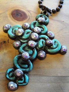 #SookieSookie Rod Iron Necklace $39.95 #BWR