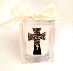Perfect wedding candle favor