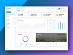 Web Ui Dashboard on Behance Dashboard Ui, Dashboard Design, Ui Design, Jobs Apps, Web Application, Show And Tell, Data Visualization, Portal, Infographic
