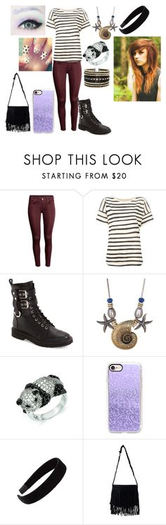 """""""Untitled #425"""" by dino-satan666 ❤ liked on Polyvore featuring Tsumori Chisato, Giuseppe Zanotti, Lucky Brand, Kevin Jewelers, Casetify, L. Erickson, NLY Accessories and Eloquii"""