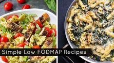 Eating With IBS got me like. I don't know what's going on with my stomach! Here are easy FODMAP Recipes to meal prep with Fodmap Recipes, Diet Recipes, Healthy Recipes, Recipes Dinner, Ibs Fodmap, Fodmap Foods, Easy Meal Prep, Air Fryer Recipes, Beauty