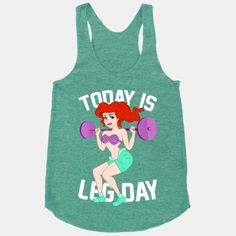 23 More Workout Tanks To Not Work Out In - Geeky Shirts - Ideas of Geeky Shirts - 23 More Workout Tanks To Not Work Out In Benson I really want this one! Workout Attire, Workout Wear, Workout Outfits, Belle Silhouette, Gym Gear, Running Gear, Running Humor, Running Shoes, Disney Running