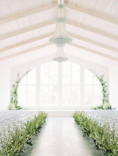28 Greenery Wedding Decor Ideas Fresh for Spring,To celebrate Spring (and three cheers for daylight savings), we selected 28 greenery wedding decor ideas that are as fresh as they come for spring weddings. From beautiful floral installations to wedd. Garden Party Wedding, Wedding Ceremony Decorations, Wedding Backdrops, Wedding Centerpieces, Wedding Ceremonies, Ceremony Backdrop, Decor Wedding, Wedding Lighting, Wedding Events
