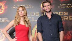 Jennifer Lawrence and Liam Hemsworth.