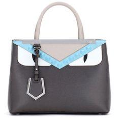 3cb615f10f78 Fendi 2Jours Petite Monster Tote Bag (£1