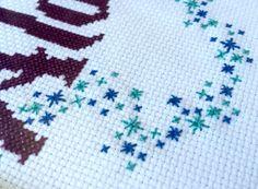 PDF  Alohomora Harry Potter Cross Stitch Pattern