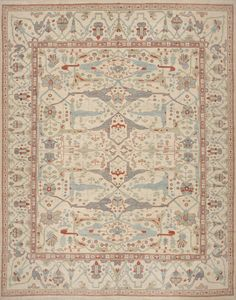 Oushak Rug - Antique Reproductions - Matt Camron Rugs & Tapestries - Antique Oriental Persian Rugs