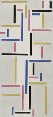 ABSTRAKCJA KONKRETNA  Theo van Doesburg  Rhythm of a Russian Dance (1918)