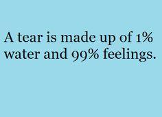 A Tear is...