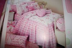 Maggie Miller Pink/Wht Fairy Ballerina 3 pc set Twin Quilt, Sham, & Pillow On Sale Now 10% off