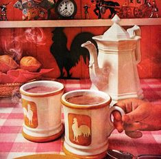Items similar to 1961 Nestle Hot Chocolate Ad, Cocoa, Retro Vintage Food Magazine Advertising, Mad Men Era, Wall Art on Etsy Retro Advertising, Retro Ads, Vintage Advertisements, Vintage Food, Vintage Recipes, Vintage Ads, 1960s Food, Retro Table, Printing Labels