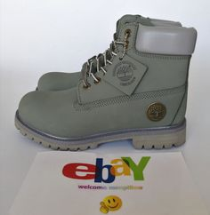 ad5d92548246 Timberland Premium Classic Nubuck 10061 Boot 6 Inch Waterproof Boots  Olive-green