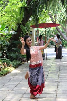 Thai dancer at Jim Thompsons House Bangkok Thailand | by adrienne_bartl