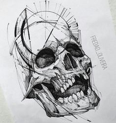 Pin de sam davis en pen & ink tattoos, sketch tattoo design y skull tat Sketch Style Tattoos, Sketch Tattoo Design, Skull Tattoo Design, Skull Design, Skull Tattoos, Tattoo Sketches, Tattoo Drawings, Body Art Tattoos, Tattoo Designs
