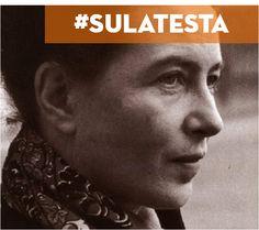 Desidero che ogni vita umana sia pura e trasparente libertà.  Simone De Beauvoir @ricominciadate #sulatesta