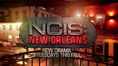 CBS - Coming soon - NCIS: New Orleans: The series features NCIS' New Orleans office, which handles cases from Pensacola, Fla., through Mississippi and Louisiana to the Texas panhandle. New Orleans, with its rich setting of music, fun and debauchery, is a magnet for military personnel on-leave. And with the fun comes trouble. NCIS' Gary Glasberg and Mark Harmon will executive-produce. Scott Bakula, Zoe McLellan, Lucas Black, CCH Pounder and Paige Turco will star.