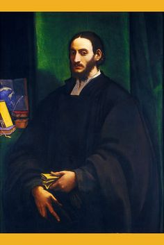 Portrait of a Humanist I, by Sebastiano del Piombo