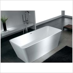Sterling Rectangular Free Standing Bath in Gloss