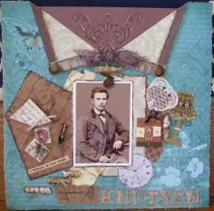 Gulliek Knutsen - Scrapbook.com       Wendy Schultz onto Scrapbook Art.