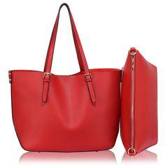 1d886e649e Barva kabelky  červená. Velikost 36 cm x 30 cm. Prostorná kabelka má  vyjímatelnú