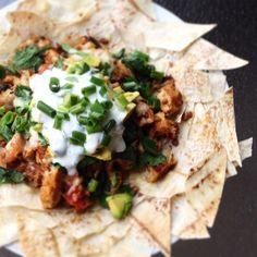 Via: @lifestylenutritionist | Mountain Bread nachos | Healthy Recipe