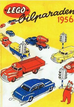 Lego bilparaden 1956