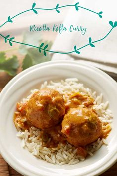 'Kofta' translates to meatball. Get creative and try using ground chicken or lamb in this recipe! Veggie Delight, Golden Raisins, Indian Food Recipes, Ethnic Recipes, Steamed Rice, Roma Tomatoes, Ground Chicken, Garam Masala, Serving Plates