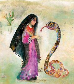 Aisha i Wąż — Baśnie Arabskie (04)