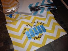 Peeps Easter Personalized embroidered by CustomHollyDavidson, $32.99