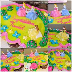 19 Ideas For Baby Girl Princess Cake Pull Apart Princess Birthday Cupcakes, Disney Princess Cupcakes, Wedding Cakes With Cupcakes, Fun Cupcakes, Cupcake Cakes, Disney Princess Kuchen, Childrens Cupcakes, Pull Apart Cupcake Cake, 4th Birthday Parties