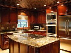 Kitchen Decoration Cabinet Colour Schemes - http://www.hgtvdecor.com/daily-interior-design-inspirations/kitchen-decoration-cabinet-colour-schemes.html
