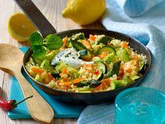 Zitronen-Couscous mit Gemüse