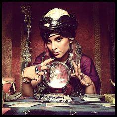 fortune teller. always easy in my closet.
