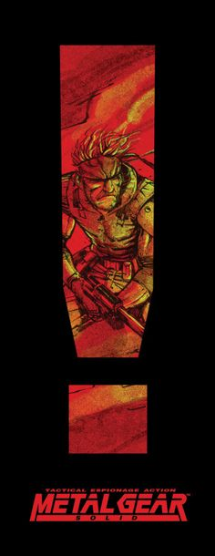Metal Gear Solid Posters - Created by Michael Lee...