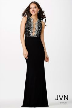 You can never go wrong with a black dress and sparkles! #JVN 22449