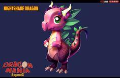 ArtStation - Nightshade Dragon, Muhammad Usman