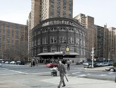 Where Ebbets Field was by @DugoutLegends