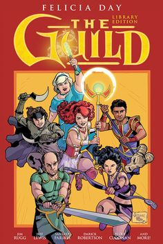The long-awaited The Guild Library Edition is coming! From Dark Horse Comics and the famed YouTube comedy web series The Guild, this deluxe oversized hardcover includes every Guild comic, including two new stories by Felicia Day--the first to be...