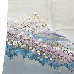 ◆本加賀友禅◆伝統工芸品色留袖横山秀一作