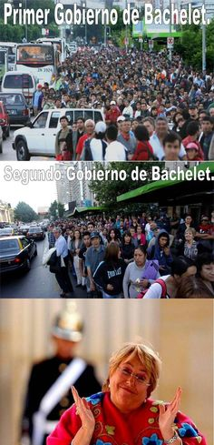 Simplemente, Michele Bachelet!