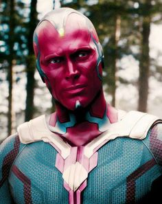 Paul Bettany as THE VISION from AVENGERS: AGE OF ULTRON.
