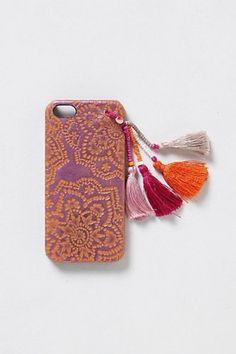 【Anthropologie】 Tasseled iPhone 5 Case